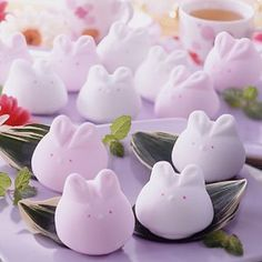 marshmallow rabbits