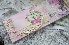 Handmade by Smilla: Альбомчик с пионами и открытки