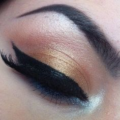 Gold rose and cat eye