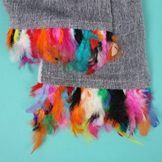 Feather Scarf | Handwoven Linen  http://www.bohemiadesign.org