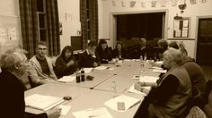 Auditions. Cast. Read-through time...