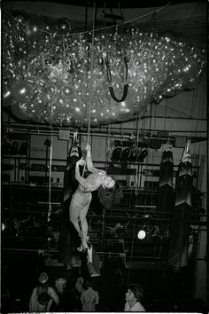 Studio 54 c.1978-1980  Photographs (c) Tod Papageorge