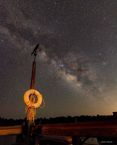 DAY 206: Milky Way rises over Little St. Simons Island in Georgia.  Photograph…