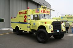 1971 International Loadstar Airport Fire/Rescue Truck.