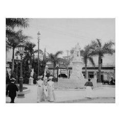 Havana Cuba early 20th Century. Cuban society women