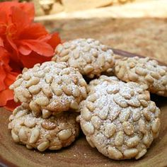 Italian Pignoli Nut Cookies. I LOVE THESE!! I made them for Easter :)
