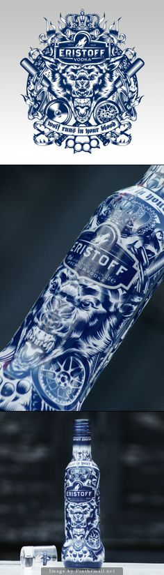 Eristoff Vodka Limited-Edition Tattoo Pack PD