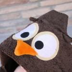 How to sew animal hooded towels for kids - from Crafty Little Projects