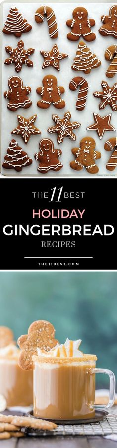 Holiday Gingerbread recipe ideas