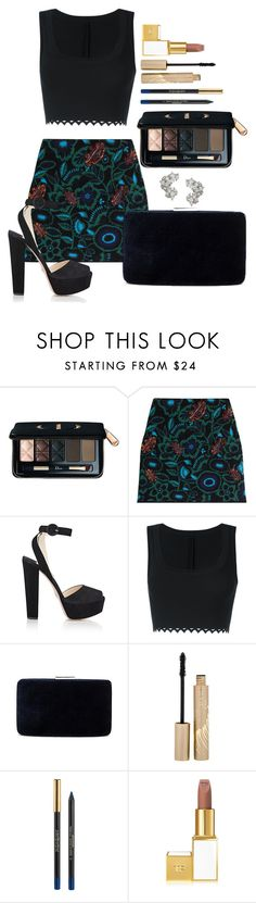 """Untitled #1624"" by fabianarveloc on Polyvore featuring Christian Dior, Kenzo, Prada, Alaïa, Kayu, Stila, Yves Saint Laurent, Tom Ford and Elise Dray"