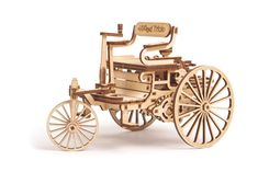 Wood Trick World's First Car Wooden Model Kit for Adults and Kids to Build - Wooden Puzzle Model Kits For Adults, Kits For Kids, 3d Laser, Laser Cut Wood, Laser Art, Wooden Puzzles, Wooden Toys, 3d Puzzles, Wooden Model Kits