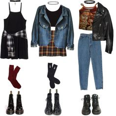 """mon, tues, wed"" by grimess on Polyvore"