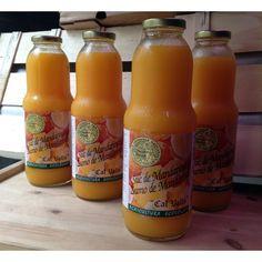 Zumo mandarina 100% ecológico empresa