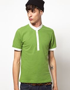 Rough Justice Polo Shirt -- Green