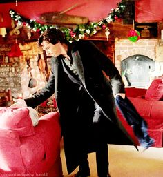Merry Christmas from Sherlock.