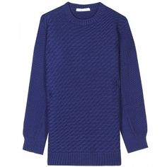 See by Chloé Contrast Knit Pullover ($322) ❤ liked on Polyvore
