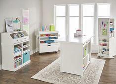 Better Homes & Gardens Craftform Craft Tower, White Finish -