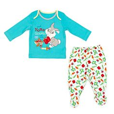 Thumper Boys' 2 Piece Pyjama Set (can be personalised)