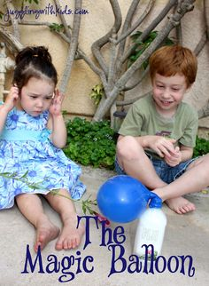 Juggling With Kids: The Magic Balloon tutorial Preschool Science, Science Classroom, Craft Activities For Kids, Science For Kids, Science Activities, Science Projects, Toddler Preschool, Science And Nature, Teach Preschool