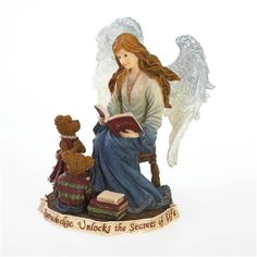 Angel Reading to Bears - Boyds Charming Angels Figurine, 4022184