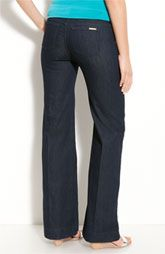 MICHAEL Michael Kors Wide Leg Jeans (Dark Indigo Wash)$89.50