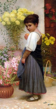 Kate Perugini - Art Renewal Center Charles Edward, Pre Raphaelite, Victorian Art, Oil Painting Reproductions, Flower Fashion, Beautiful Paintings, Modern Paintings, Oil Paintings, Vintage Prints