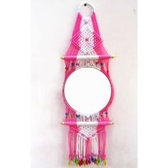 Macrame Decorative Mirror