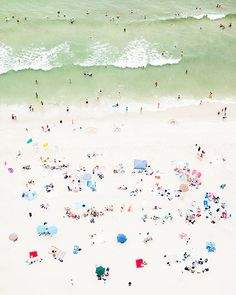dotted beach