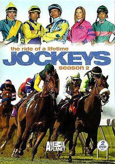NEW JOCKEYS SEASON 2 DVD SET -THE RIDE OF A LIFETIME FROM ANIMAL PLANET - 2 DISC