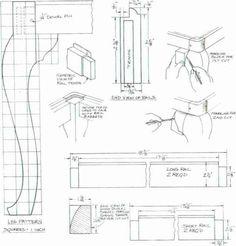 Queen Anne Furniture Legs Home Design Outlet Center Miami . Wood Furniture Legs, Furniture Projects, Furniture Plans, Furniture Styles, Furniture Design, Woodworking Projects That Sell, Woodworking Plans, Wood Bed Design, Georgian Furniture