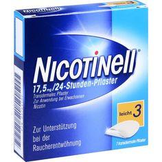 NICOTINELL 17,5mg 24Stunden Nikotinpflaster transdermal:   Packungsinhalt: 7 St Pflaster transdermal PZN: 03764502 Hersteller:…