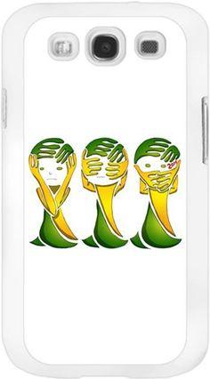 Üç maymun dünya kupası Kendin Tasarla - Samsung Galaxy S3 Kılıfları