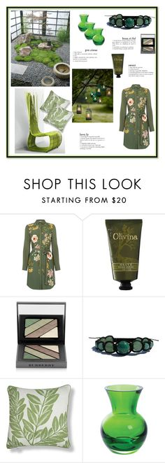 """""""ZEN"""" by zenstore ❤ liked on Polyvore featuring interior, interiors, interior design, home, home decor, interior decorating, Oasis, Olivina, Burberry and MM Linen"""