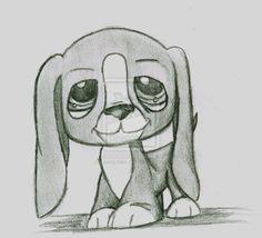 littlest pet shop dog drawing