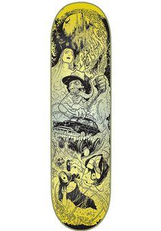 Creature Navarette-Rumble-Series, Deck, Glow-in-the-Dark Titus Titus Skateshop #Deck #Skateboard #titus #titusskateshop