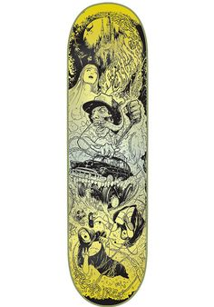 Creature Navarette-Rumble-Series, Deck, Glow-in-the-Dark Titus Titus Skateshop #Deck #Skateboard #titus #titusskateshop