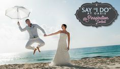Enter to WIN a 5 Night Stay for 2 PLUS a Romantic Wedding or Vow Renewal at the Grand Oasis Cancun! Hotel Wedding, Wedding Vows, Destination Wedding, Wedding Ideas, All Inclusive Mexico, Tulum Mexico, Romantic Destinations, Stay The Night, Cancun