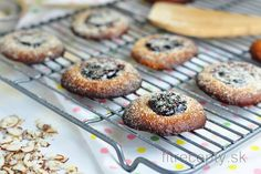 Marmeládové cookies bez múky | fitrecepty.sk Keto, Paleo, Stevia, Doughnut, Muffin, Food And Drink, Low Carb, Cheesecake, Gluten Free