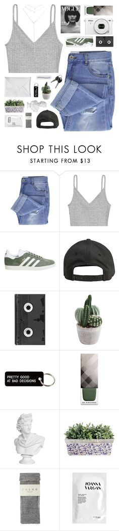 """the only monsters were the voices in my head ☆"" by scattered-parts ❤ liked on Polyvore featuring Taya, H&M, adidas, Billabong, Luckies, Various Projects, Nikon, Burberry, Falke and Joanna Vargas"