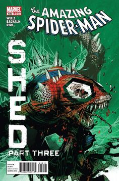 Amazing Spider-Man 632: Shed Part Three