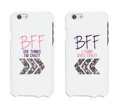 Floral BFF Phone Cases - iphone 4 5 5C 6 6+ / Galaxy S3 S4 S5 / HTC M8 / LG G3 #365inlove