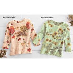 """""""I sometimes have problems with sizing, but this one is perfect! Not too loose or too tight. Cute print for fall."""" ~ """"izzytoo"""""""