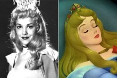 Helene Stanley - Princess Aurora | Here Are The Real Life People Your Favorite Disney Characters Are Modeled After