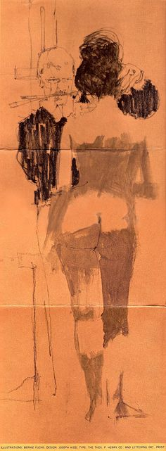 Bernie Fuchs Like great writing, great painting is defined more by what is not…