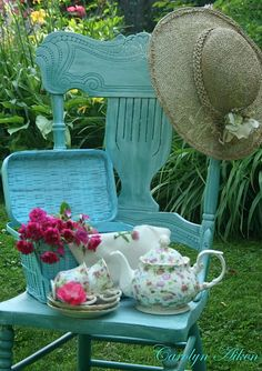 Lovely day for a cup of tea