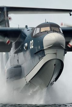 ↠Japanese ShinMaywa US-2, an amphibious aircraft ($75m) with multi-role capabilities of maritime patrol, search & rescue, and firefighting. The US-2 first flew in 2003. Only 3 have been built.