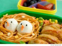 Parenting.com | How to Make a Bird's Nest Bento Lunch Box