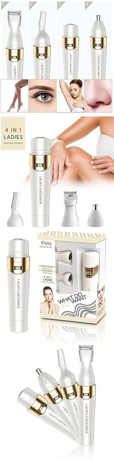 Epilators and Electrolysis: Electric Hair Remover Shaver Eyebrow Shaping Facial Body Nose Trimmer Painless -> BUY IT NOW ONLY: $39.1 on eBay!
