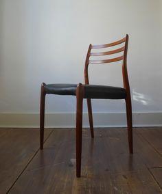 J L Moller Model #78 Side Chair