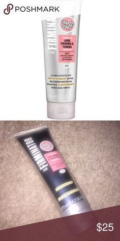 The Firminator Targeted arm toning and smoothing formula with soft focus spheres to disguise bumpy arms plus caffeine. Never used. Soap & Glory Other